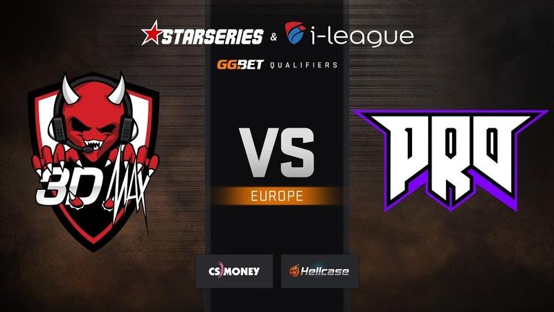 3DMAX vs pro100, map 2 nuke, StarSeries i-League S7 GG.Bet EU Qualifier