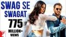 Swag Se Swagat Song Tiger Zinda Hai Salman Khan Katrina Kaif Vishal Shekhar Irshad Neha