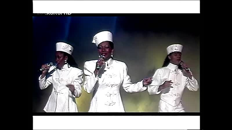 Boney M. - Christmas-Mega-Mix (ZDF-Hitparade, 17.12.1992)
