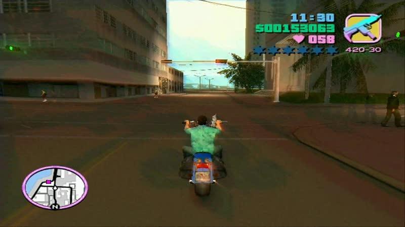 Прохождение Gta Vice City - 37. Hog Tied
