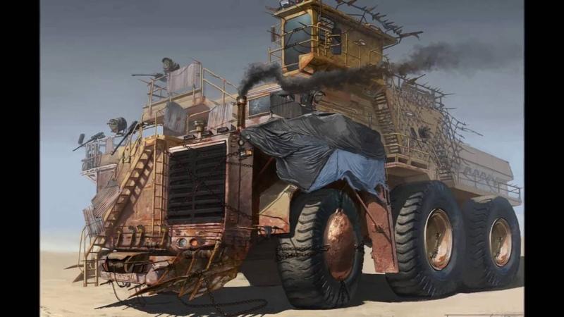 Machinery for the zombie apocalypse case Машины на случай зомби апокалипсиса