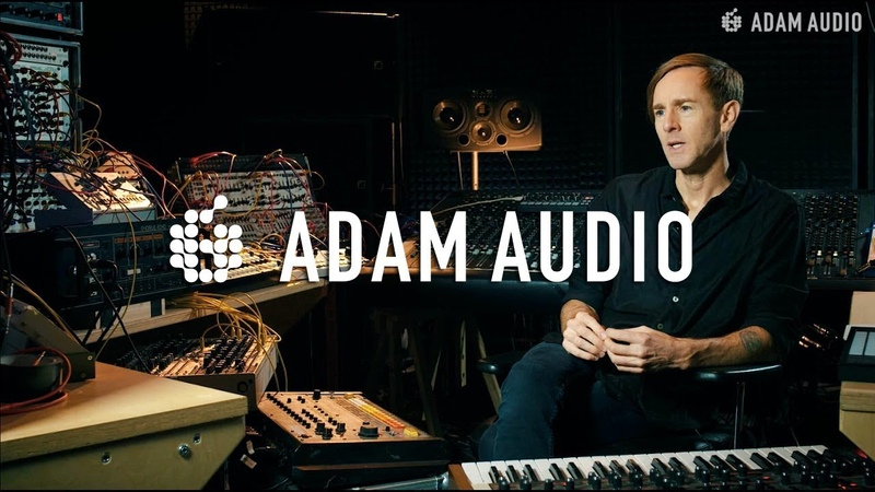 ADAM Audio In The Studio With Richie Hawtin