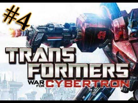 Let's play Трансформеры Битва за Кибертрон 4 серия