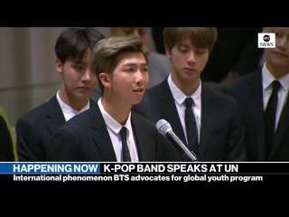 180924 BTS Speech @ 73rd Session of the UN General Assembly