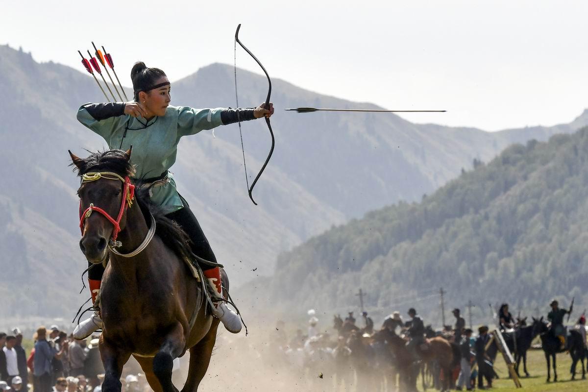 Я умею стрелять не только глазками: Киргизская наездница