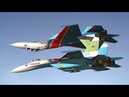 Русские витязи. Высший пилотаж. Фигура Зеркало на Су-27