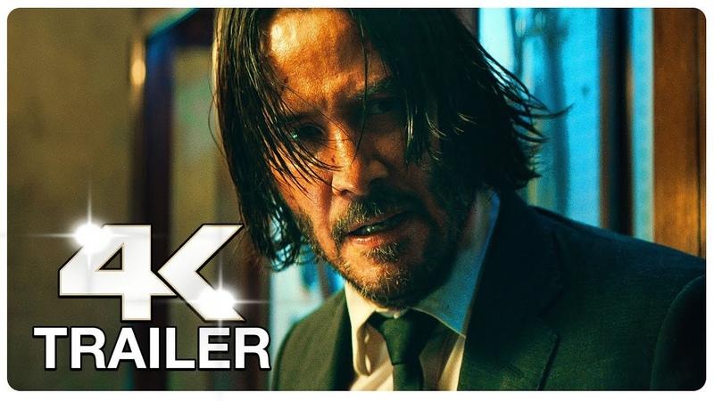 JOHN WICK 3 5 Minute Trailers 4K ULTRA HD NEW 2019