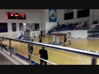 Баскетбол в буривестнике часть 1