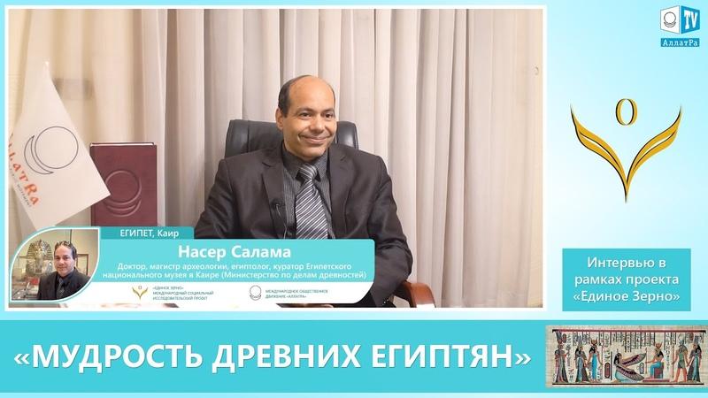 Доктор Насер Салама, египтолог: «Мудрость древних египтян»