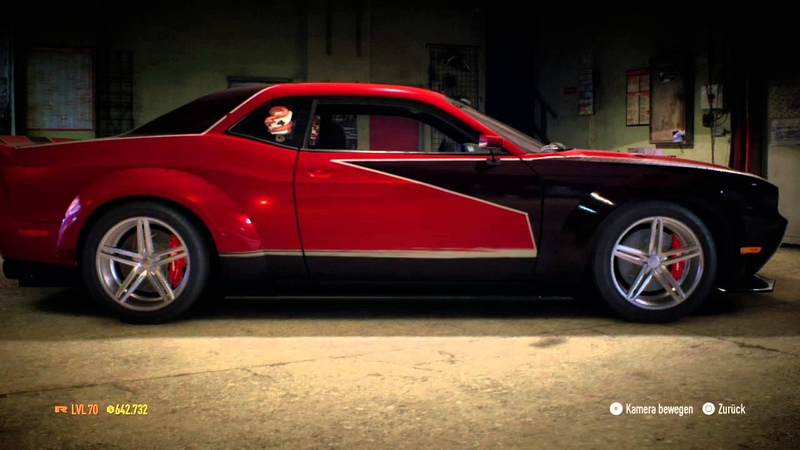 Need for Speed 2015 Angie's Stacked Deck Dodge Challenger NFS Carbon