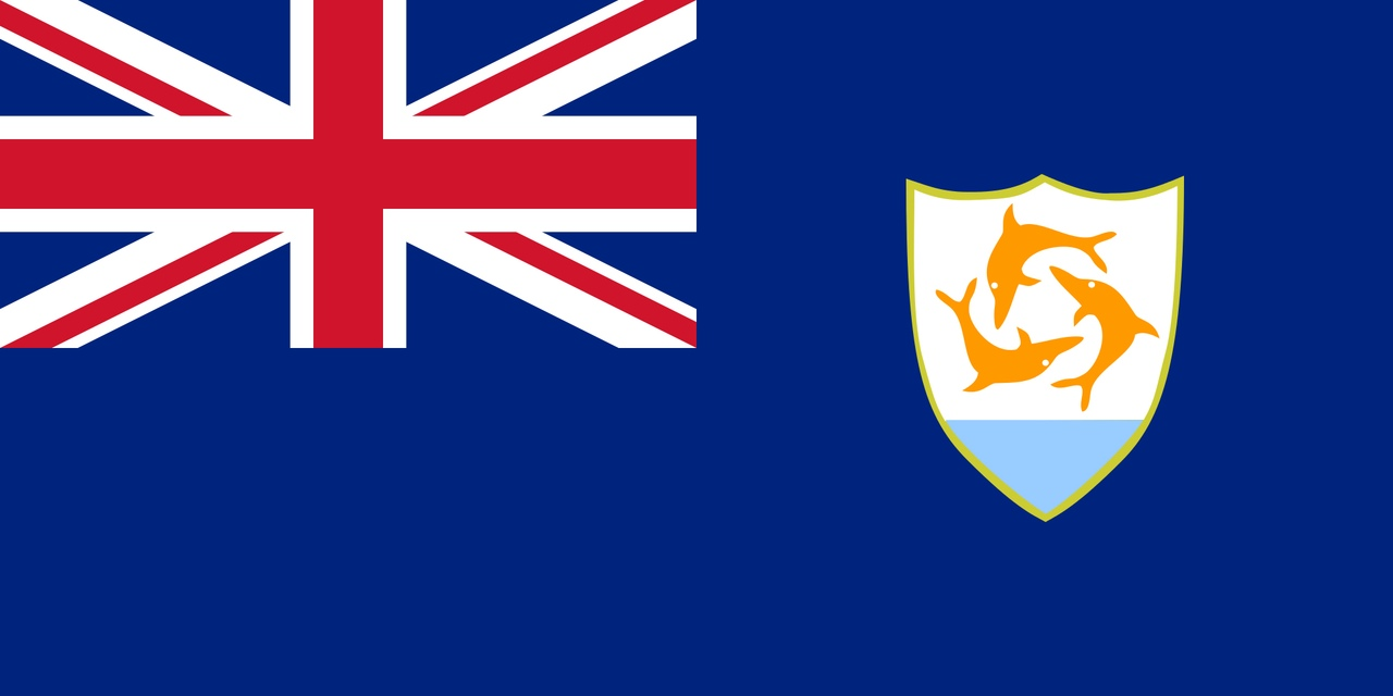 Флаг Ангилья