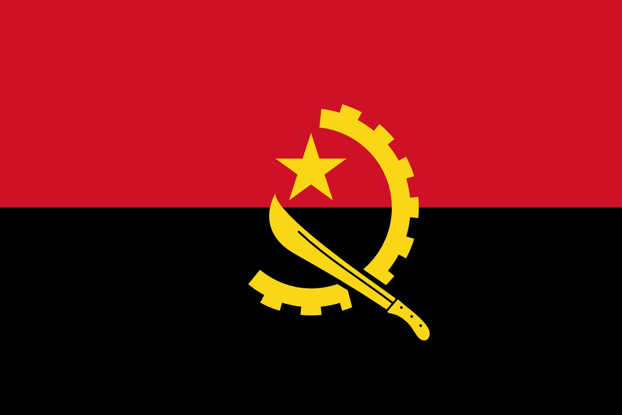 Флаг Ангола