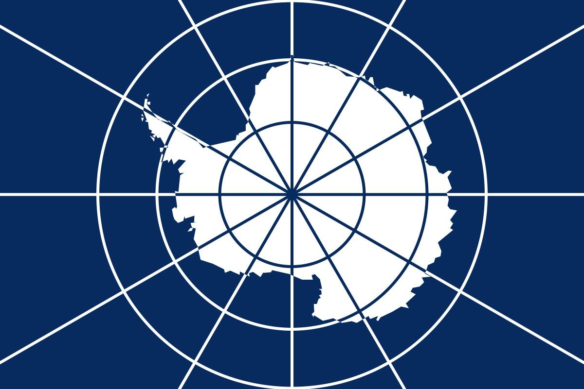 Неофициальный Флаг Антарктиды