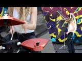 Freestyler (Bomfunk MCs) Drum and HARP Guitar COVER!!! 2019