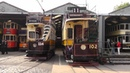 Crich Tramway Village Electric 50 13th September 2014