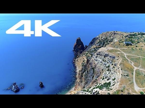 Crimea by dron 4K. Крым с дрона 4К