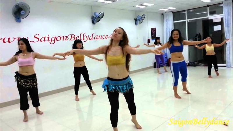 Alf Leyla Wa Leyla (Om Kalsoum)   Lớp học Bellydance cùng với Ms. Ngân Nancy   SaigonBellydance