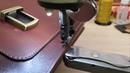 Рукавная обувная ремонтная швейная машина Обзор GOLDEN WHEEL