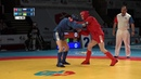 ABDULAZIZOV RUS vs KUCHERENKO UKR World SAMBO Championships 2018 in Romania