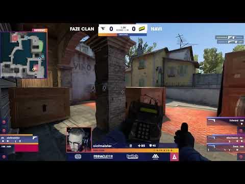Electronic 4k on pistol round vs FaZe
