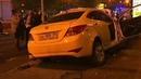 Опять авария на кутузовском проспекте Инфинити на 200 км/ч въехал в такси 13.07.2019