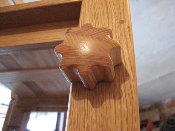 Wooden knob How to make Drewniane pokrętło
