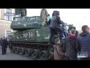 На Площі Свободи пройшла масштабна виставка військової техніки