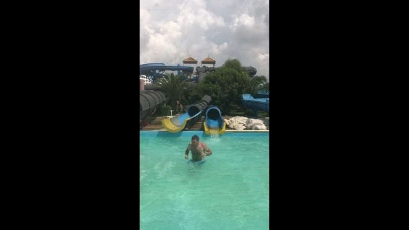 ТУНИС аквапарк нашего отеля