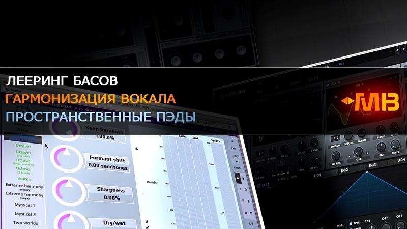 Лееринг Басов Гармонизация вокала Пространственные пэды А Разумов