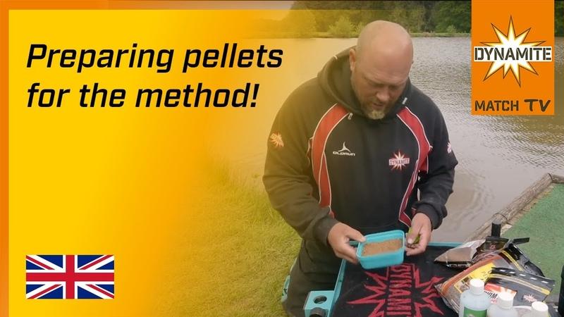 Method Feeder Fishing - How To Prepare Pellets For The Method with Grant Albutt