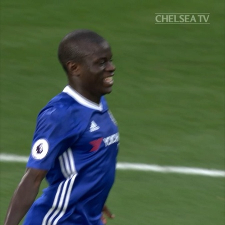 """Chelsea FC on Instagram: """"Two years ago today... @nglkante's first Chelsea goal is one we'll never forget! 😁🙌 CFC Chelsea"""""""