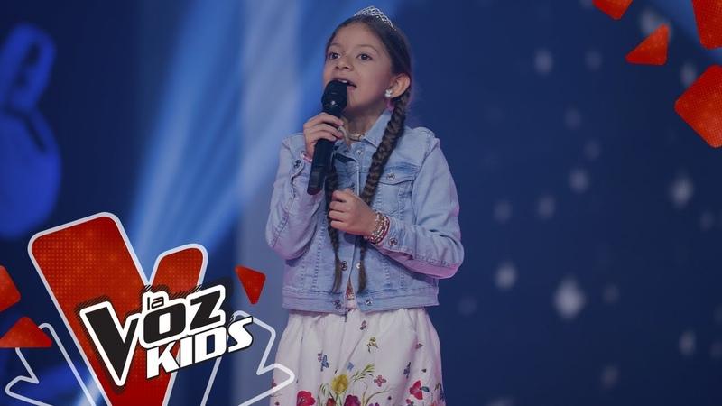 Melissa canta Libre Soy en los Rescates   La Voz Kids Colombia 2019