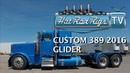 PETERBILT 389 CUSTOM GLIDER WALK AROUND - BUILT BY THE WORLDS BEST - HOT ROD RIGS TV