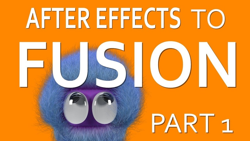 After Effects to BMD Fusion Part 1 - Layers vs Nodes