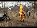 'Эй жопозад' Кастиэль сжигает Михаила священным огнём - Сверхъестественное