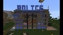 Minecraft Обзор полицейского участка