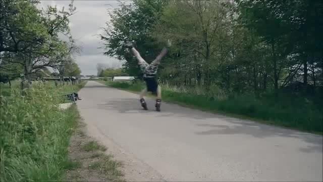 Handstand Inline Skaten