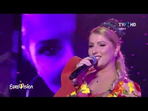 09 Letiția Moisescu Sensibil Balkan D A I N A LIVE @ Eurovision 2019 Romania Semi 2