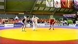 1999 Senior World Championships 75 kg Jelena Jirnova (RUS) vs. May Bente Eriksen (NOR)