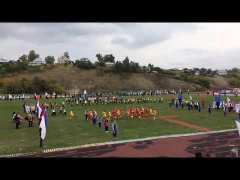 2018.09.28, Стадион, Базарный Карабулак, день города.