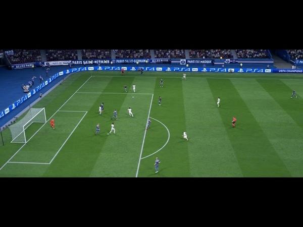FIFA19 неймар забивает красивый гол