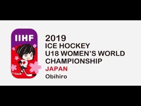 2019 IIHF Ice Hockey U18 Womens World Championship | Сzech Republic vs. Japan | Full Game