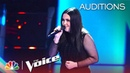 Kendra Checketts Lands an Unexpected Coach with Sober - The Voice Blind Auditions 2019