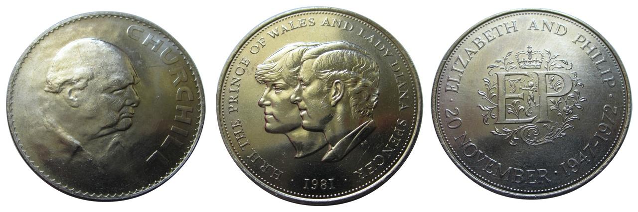 крупные монеты