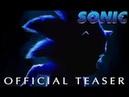 Sonic the Hedgehog 2019 - Teaser Trailer