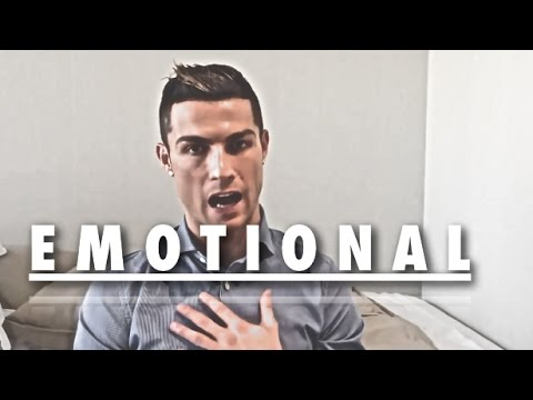 Cristiano Ronaldo ● When A Man Gets Emotional ● Interviews Speeches