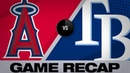 Rays score 2 in the 8th to ward off Angels Angels Rays Game Highlights 6 16 19