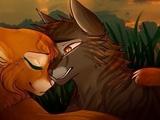 Коты Воители Ежевика и Белка - Клип Детство (Заказ)