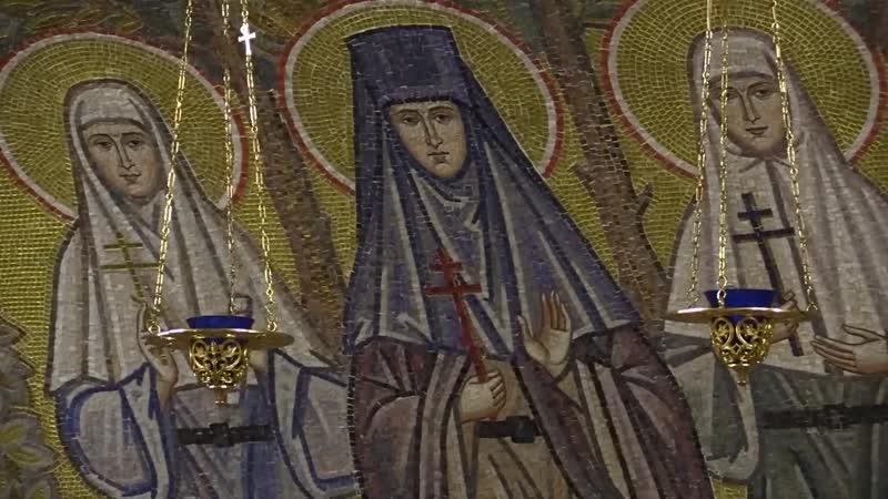 Мозаичные работы в Благовещенском соборе Серафимо-Дивеевского монастыря
