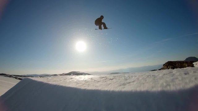 GoPro Sunset Snowboarding with Sage Kotsenburg Halldór Helgason and Sven Thorgren · coub коуб